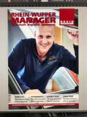 Dachdecker Marcus Kessel mit der Kessel GmbH auf der Titelseite des Regio-Managers
