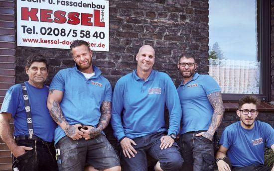 Foto von Marcus Kessel und seinen Mitarbeitern